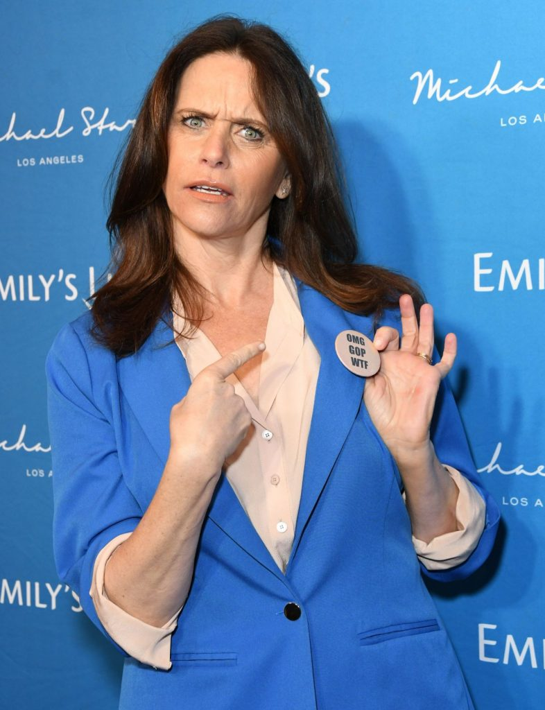 Amy Landecker – EMILY's List Brunch and Panel Discussion in LA 2020 (6 Photos)