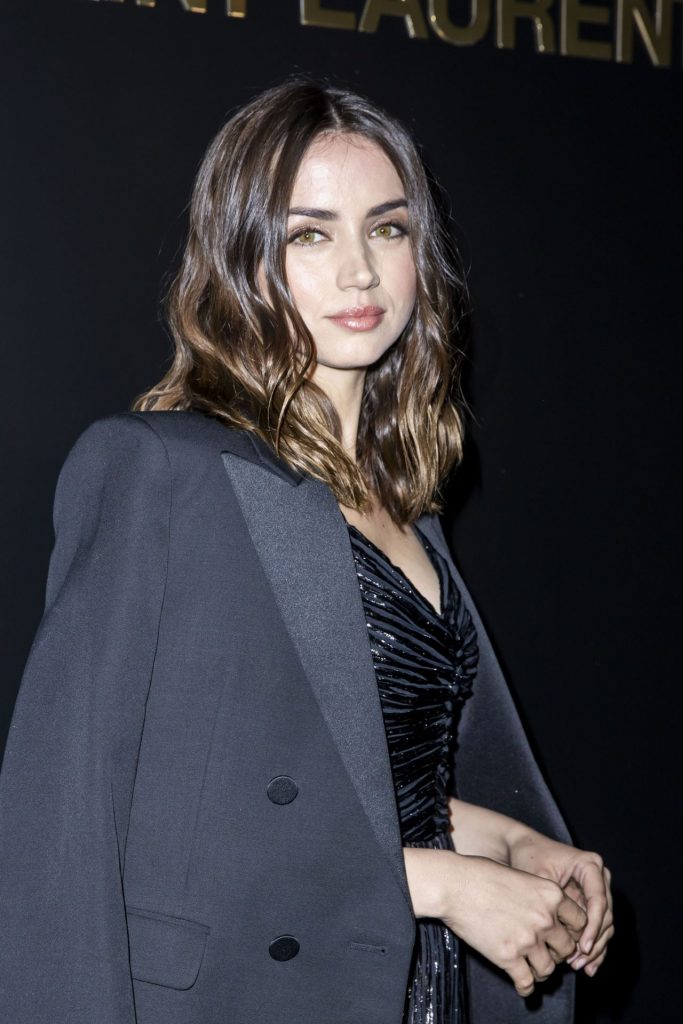 Ana de Armas – Saint Laurent Show in Paris 2020 (12 Photos)