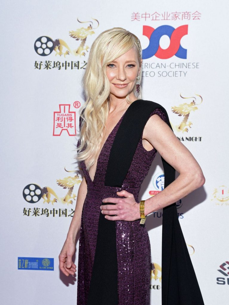 Hollywood China Night Oscar Viewing Party 2020: Anne Heche (4 Photos)