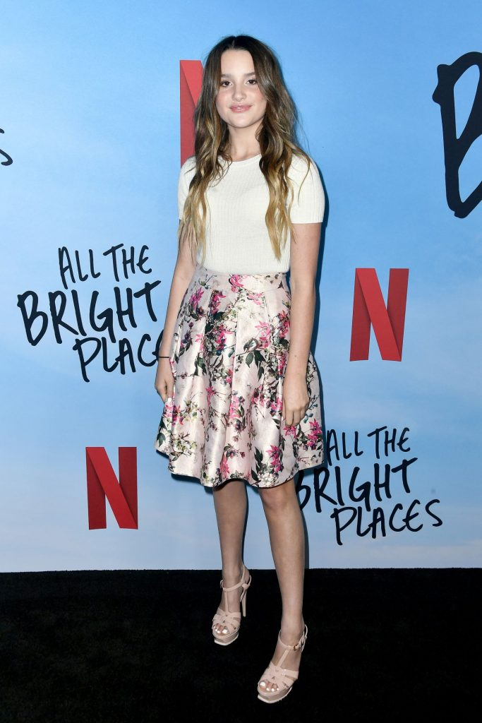 All The Bright Places Special Screening in Hollywood: Annie LeBlanc (10 Photos)