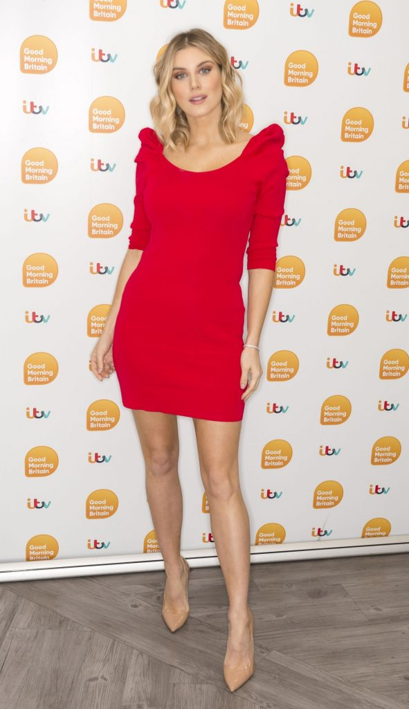 Ashley James – Good Morning Britain in London 2020 (7 Photos)