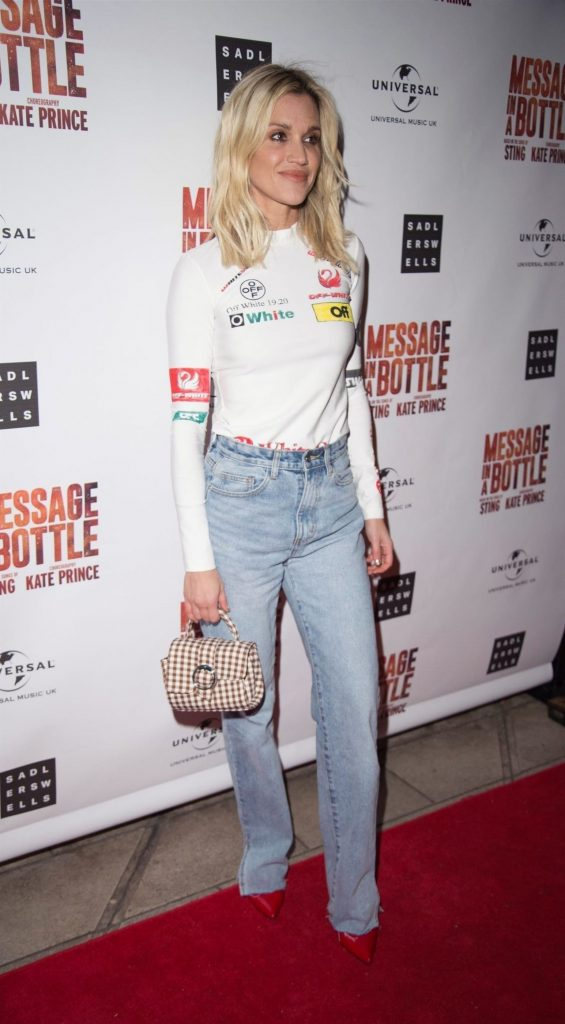 Ashley Roberts – Message in a Bottle Press Night in London 2020 (10 Photos)