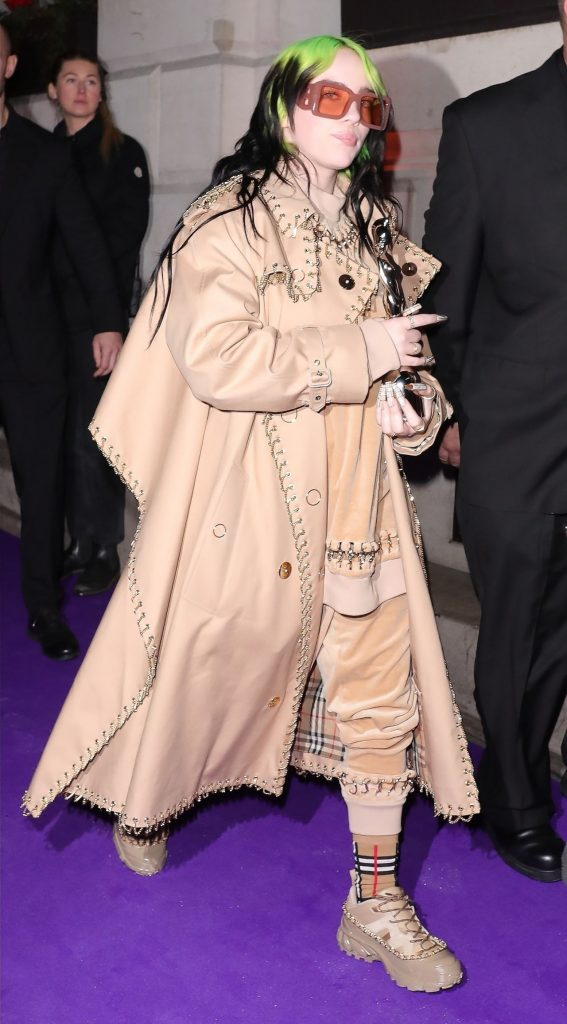 Billie Eilish – Arrive at the Sony BRIT Awards 2020 After-Party (3 Photos)