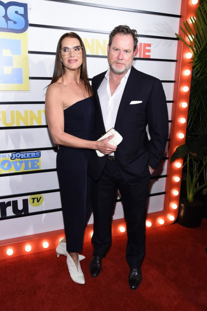 Brooke Shields – Impractical Jokers The Movie Screening in NY (3 Photos)