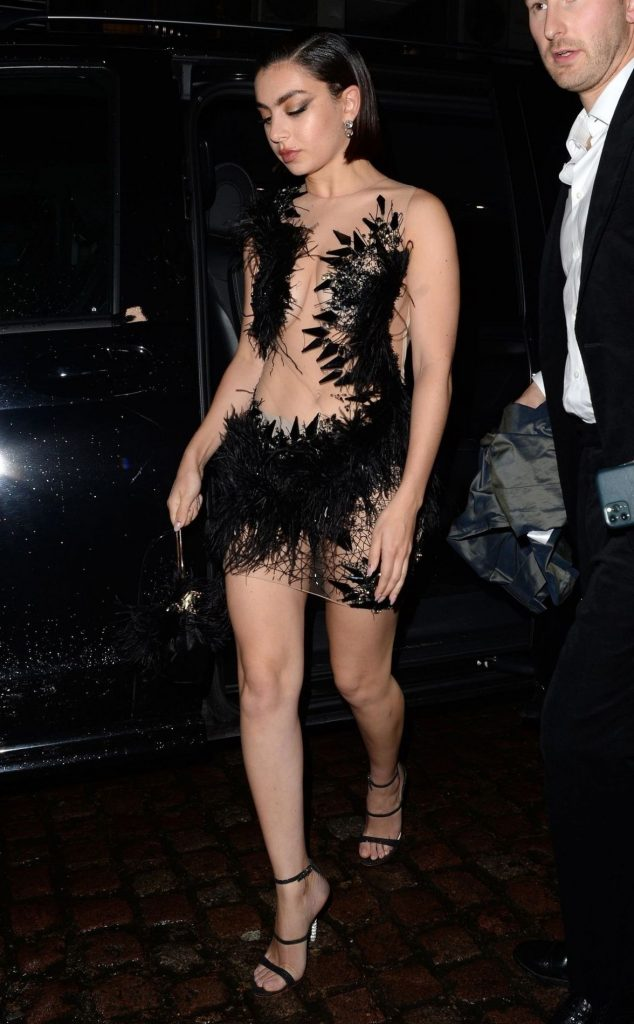 Charli XCX – BRIT Awards After Party in London 2020 (7 Photos)