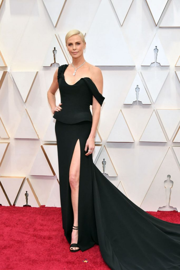 Oscars 2020 Red Carpet: Charlize Theron (12 Photos)
