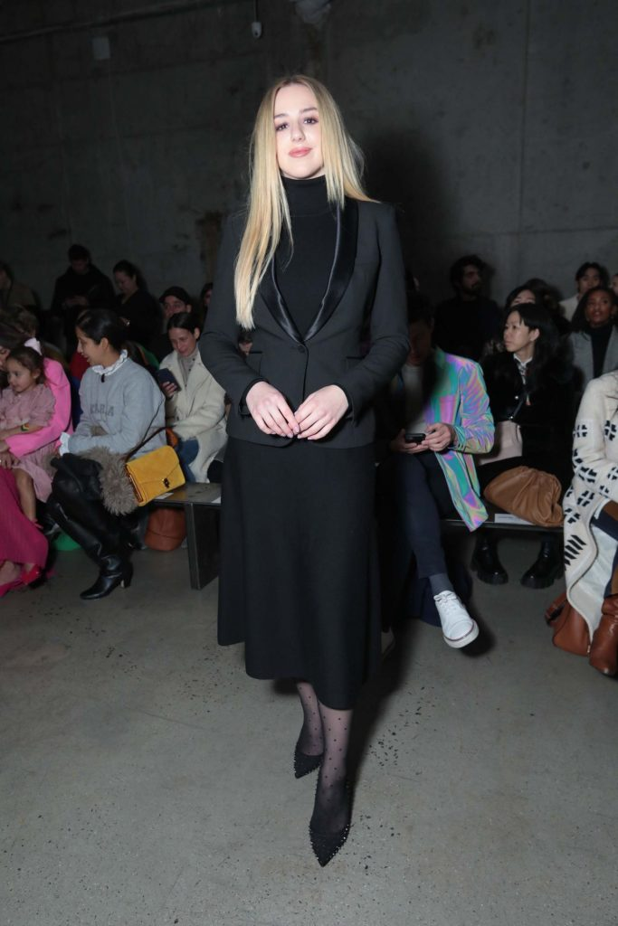 Jason Wu Fashion Show in NYC 2020: Chloe Lukasiak (4 Photos)