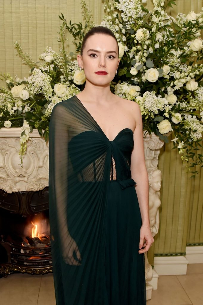 Daisy Ridley – Vogue UK Fashion and Film Party 2020 Photos