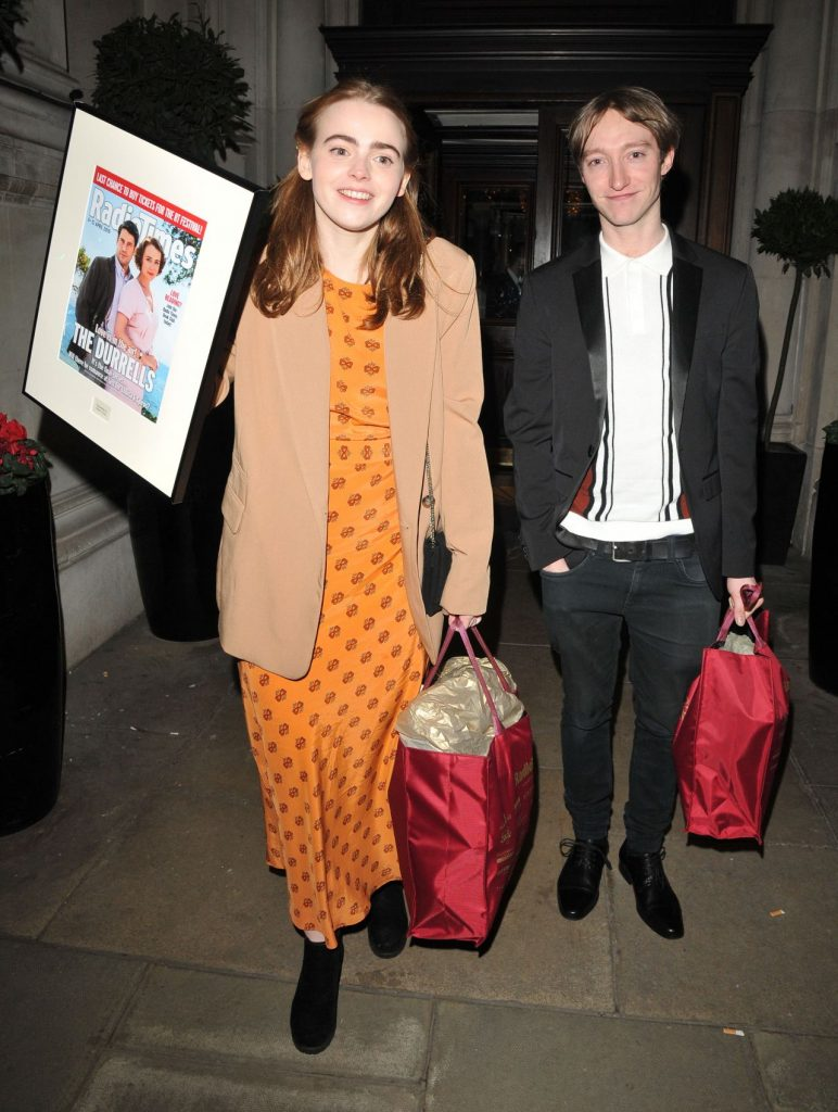Daisy Waterstone – The Radio Times Covers Party in London 2020 (5 Photos)