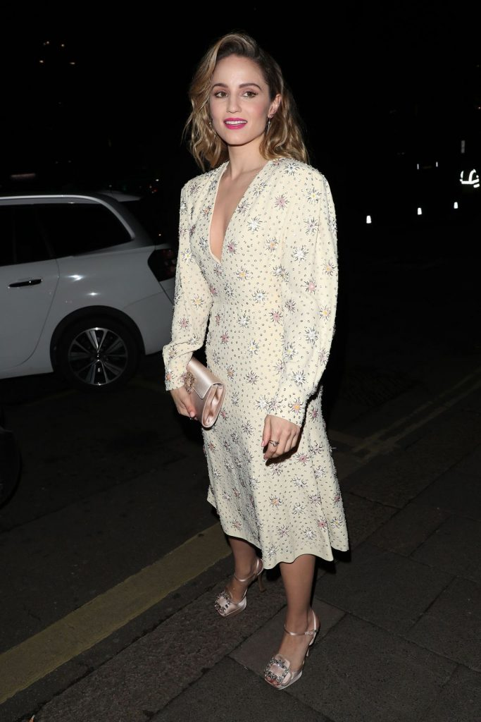 Dianna Agron – Arriving at the Vogue x Tiffany Fashion – Film After Party 2020 (4 Photos)