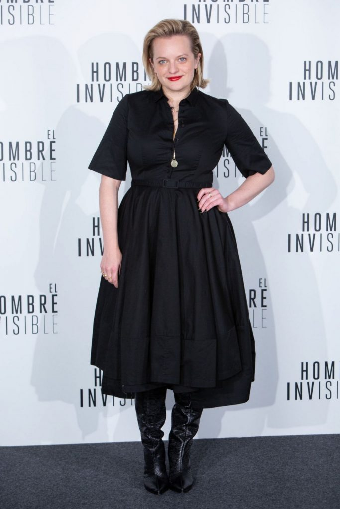 The Invisible Man Premiere in Madrid: Elisabeth Moss (10 Photos)