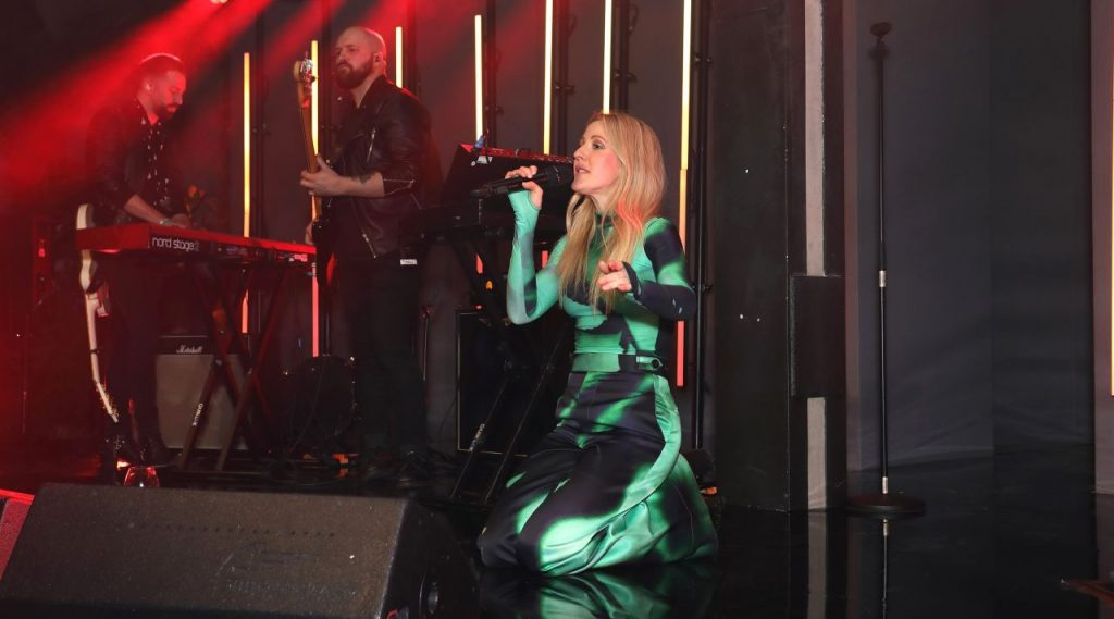 Sky Up Next 2020 in London: Ellie Goulding (5 Photos)