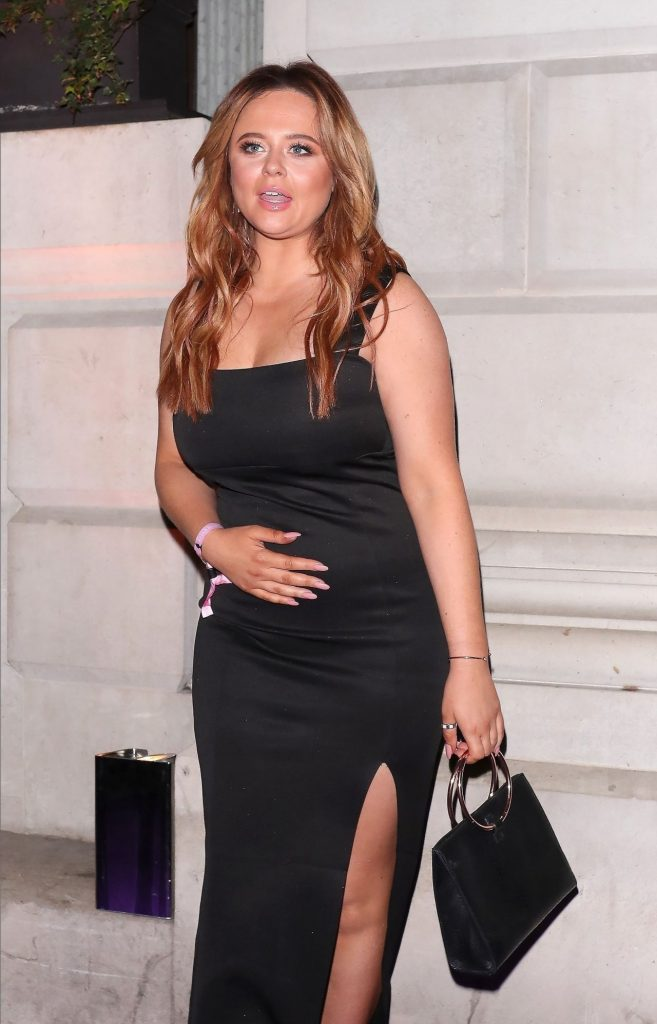 Emily Atack – Arrive at the Sony BRIT Awards 2020 After-Party (4 Photos)