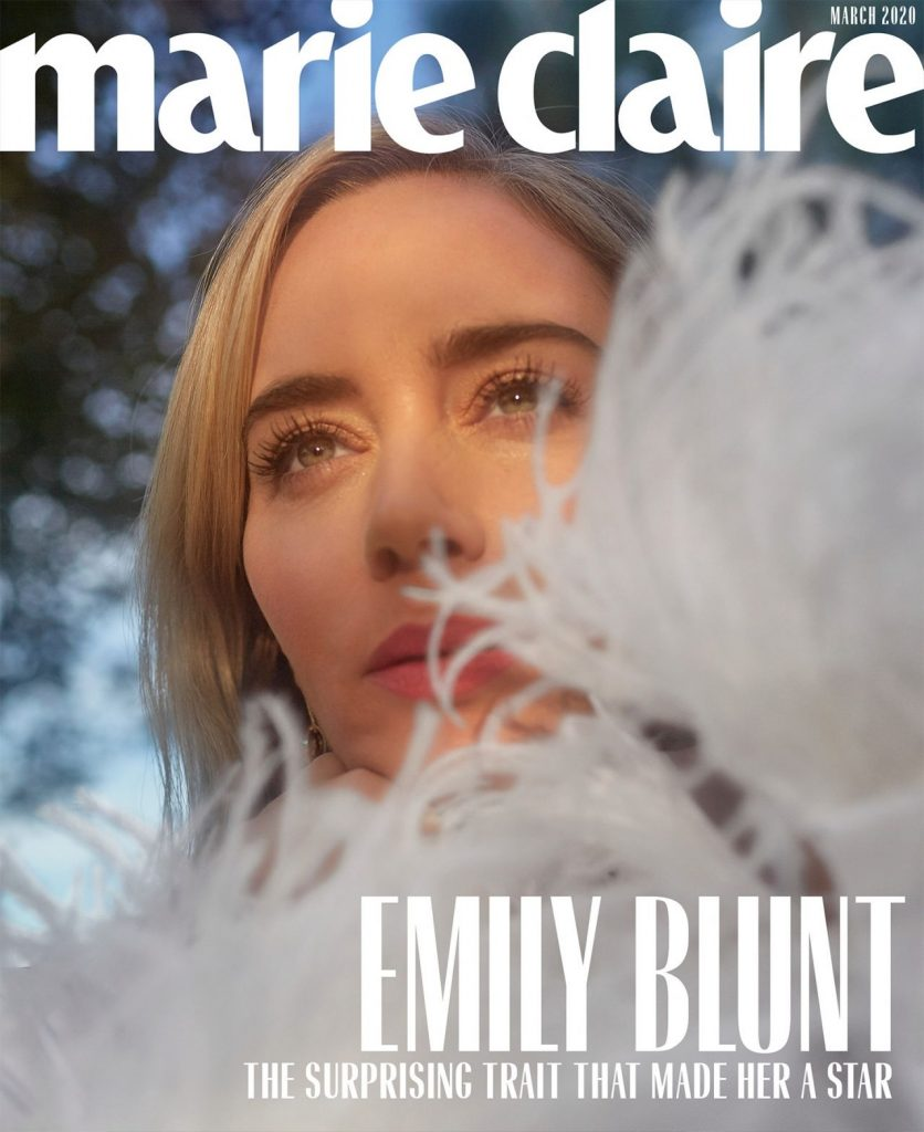 Marie Claire US March 2020: Emily Blunt (8 Photos)