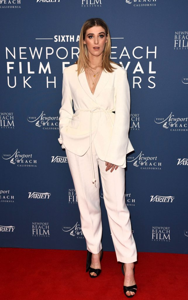 Honor Swinton Byrne – Newport Beach Film Festival UK Honour in London 2020