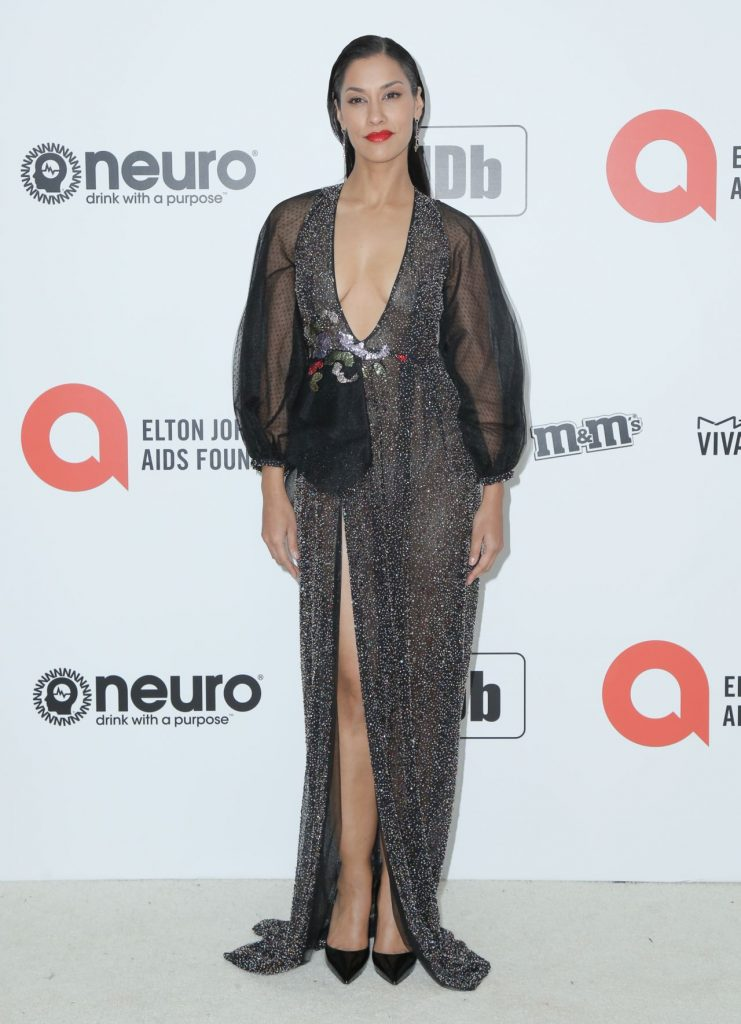 Elton John AIDS Foundation Oscar 2020 Viewing Party: Janina Gavankar (9 Photos)