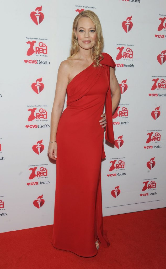 Jeri Ryan – Go Red For Women Red Dress Collection 2020 in NYC (10 Photos)