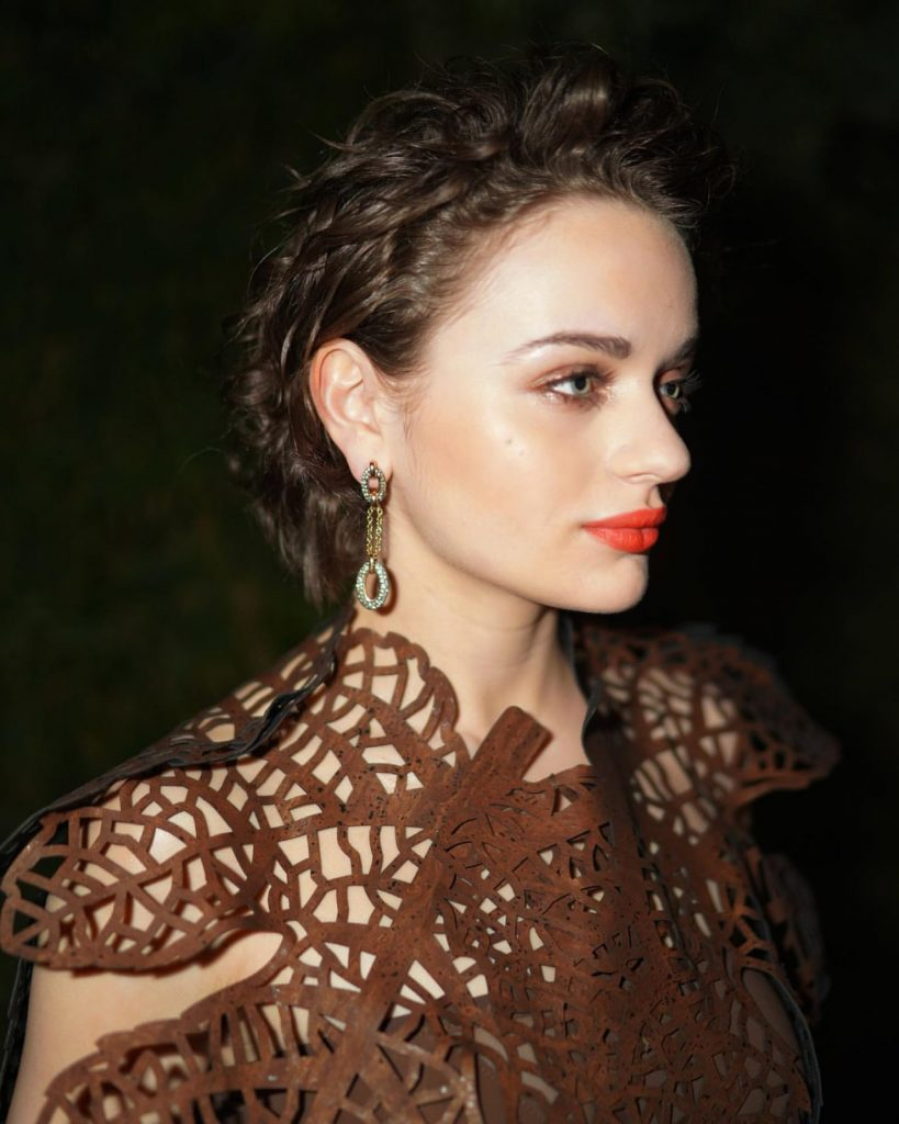 Joey King – Backstage Shoot for the Vanity Fair Oscar Party in Beverly Hills 2020