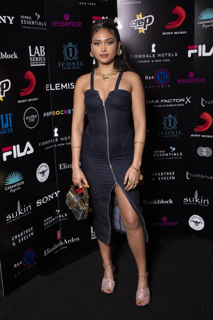BRIT Awards 2020 Sony Music After Party in London: Joy Crookes (4 Photos)