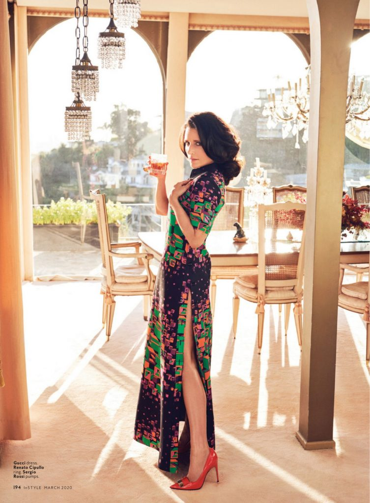 Julia Louis-Dreyfus – InStyle US March 2020 Issue (8 Photos)