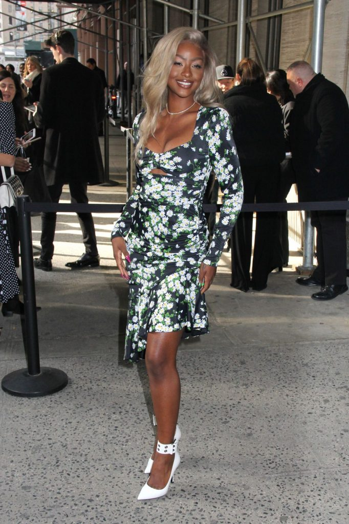 Michael Kors Fashion Show in NY 2020: Justine Skye (10 Photos)