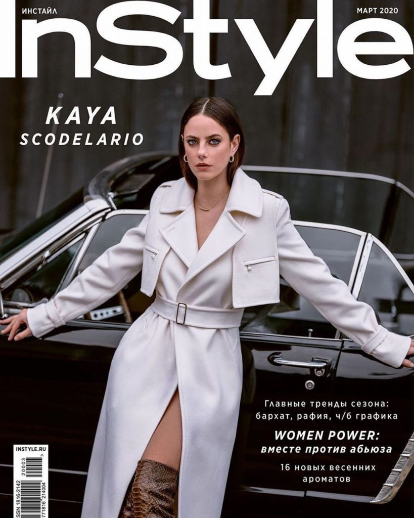 Kaya Scodelario – Instyle Russia March 2020