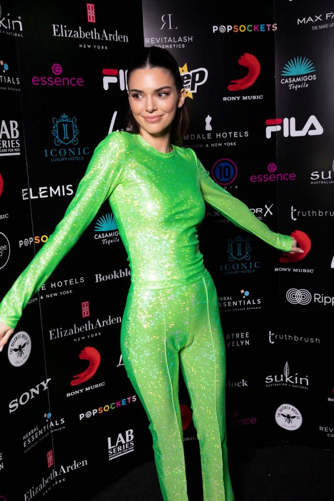 Kendall Jenner – BRIT Awards 2020 Sony Music After Party in London (10 Photos)