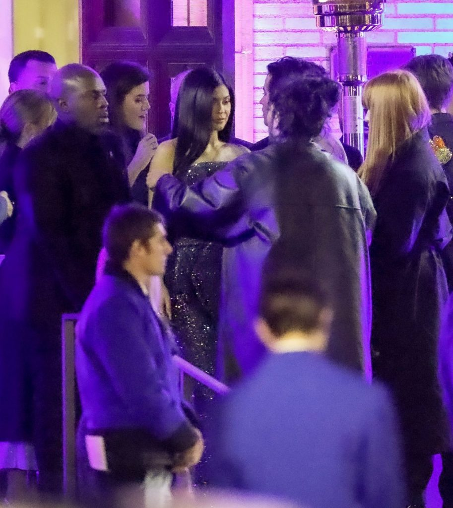 Kylie Jenner – Arrives at the Vanity Fair Oscar Party in Beverly Hills 2020
