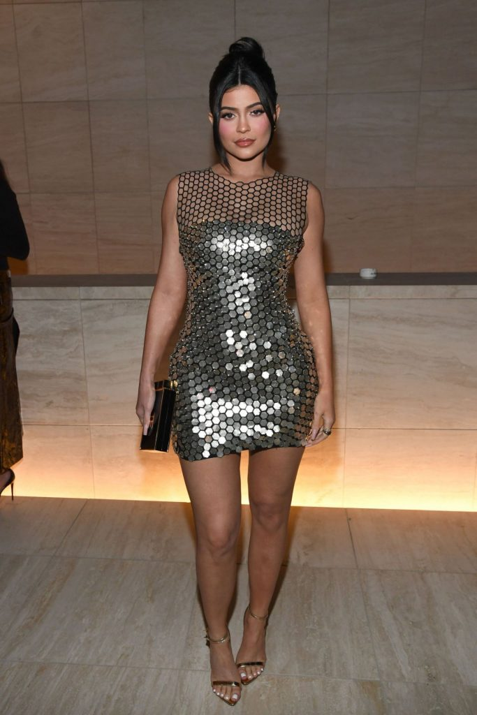 Tom Ford Fashion Show in LA 2020: Kylie Jenner (4 Photos)