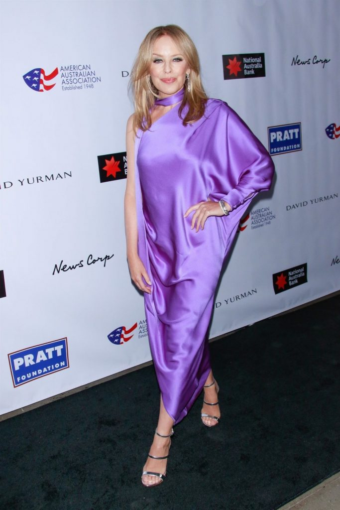 AAA Arts Awards Gala in New York 2020: Kylie Minogue (10+ Photos)