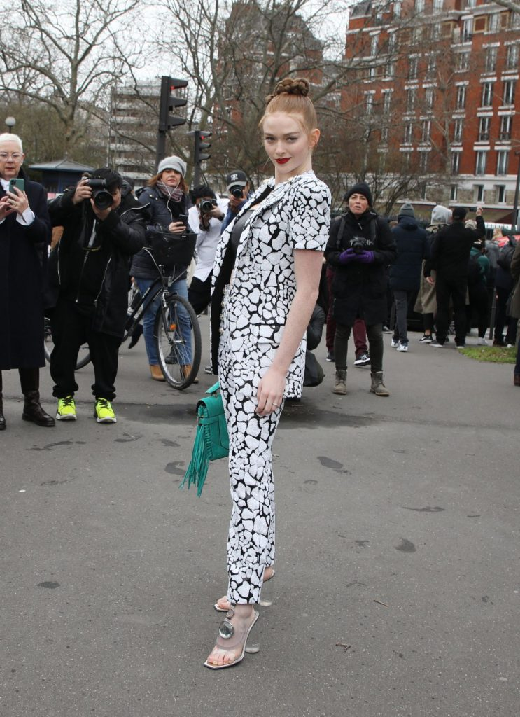 Larsen Thompson – Balmain Show at Paris Fashion Week 2020 (15 Photos)