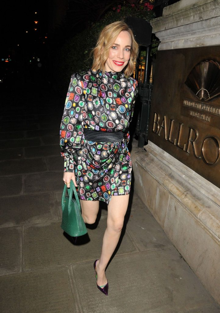 Laura Main – The Radio Times Covers Party in London 2020 (3 Photos)