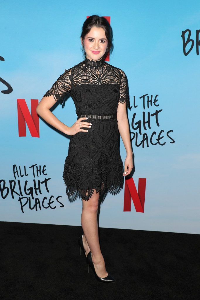 All The Bright Places Special Screening in Hollywood: Laura Marano (3 Photos)
