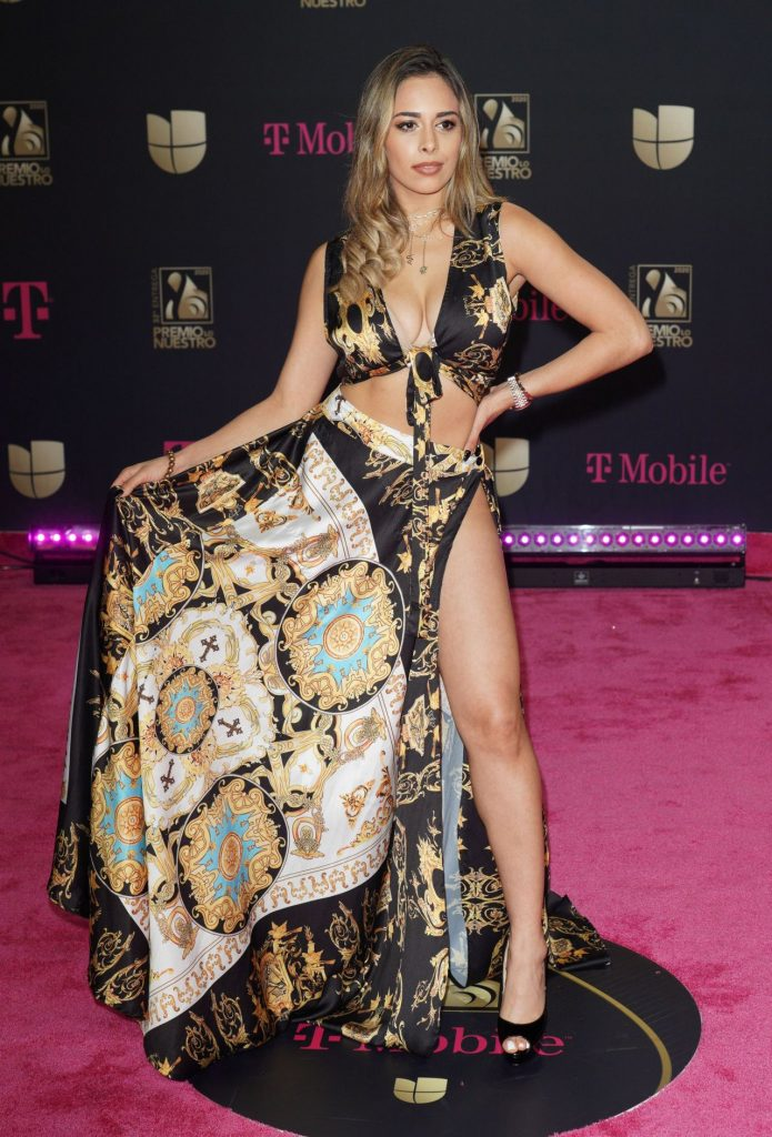 Premio Lo Nuestro 2020 Awards: Leli Hernandez (7 Photos)