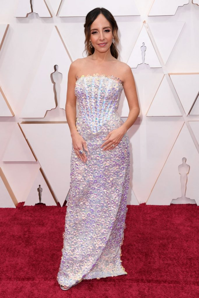 Oscars 2020 Red Carpet: Lilliana Vazquez (4 Photos)