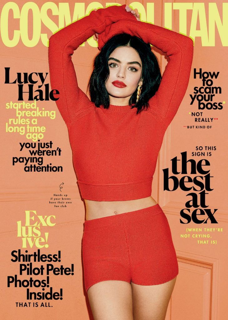 Lucy Hale – Cosmopolitan February 2020 Issue (10+ Photos)
