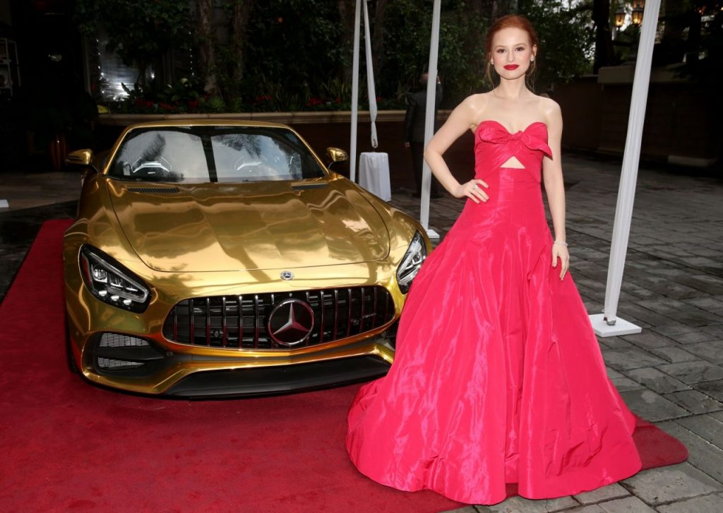 Mercedes-Benz Oscar Viewing Party in Hollywood 2020: Madelaine Petsch (13 Photos)