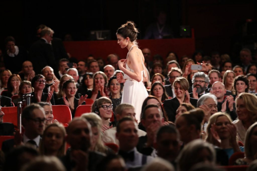 Margaret Qualley – My Salinger Year Premiere at Berlinale 2020 (3 Photos)