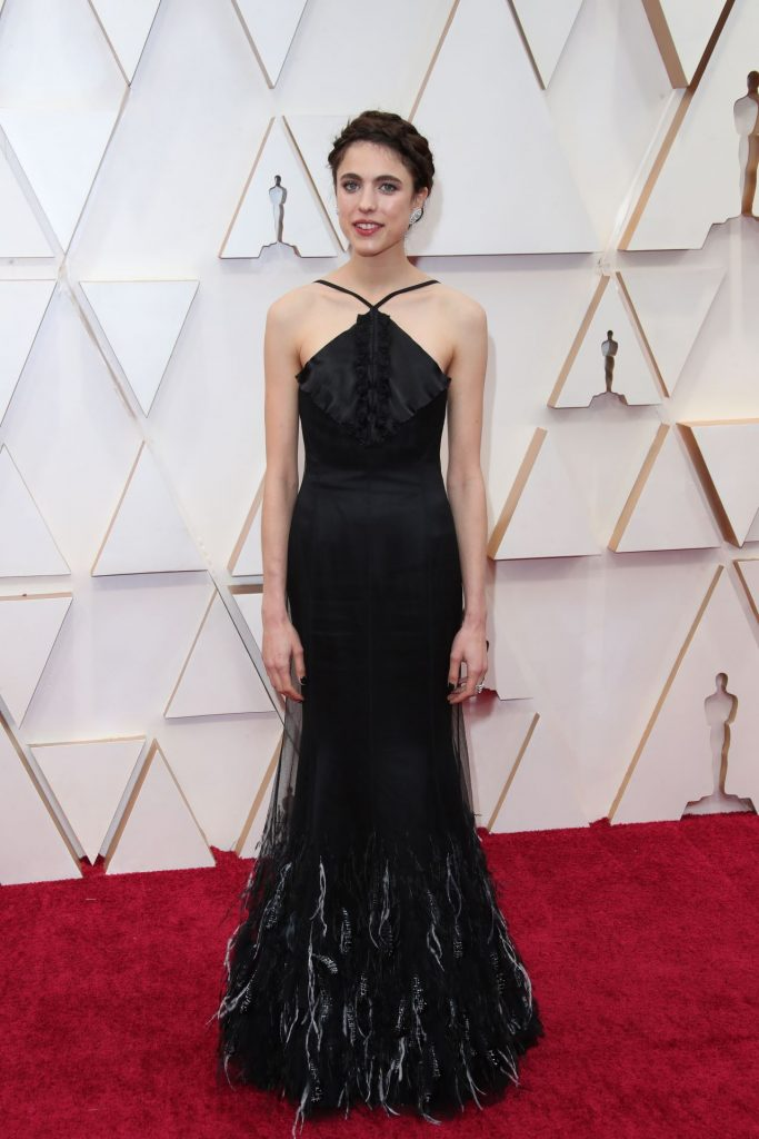 Oscars 2020 Red Carpet: Margaret Qualley (4 Photos)