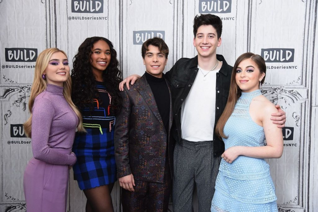 Meg Donnelly – BUILD Series for Zombies 2 in NYC 2020 (8 Photos)