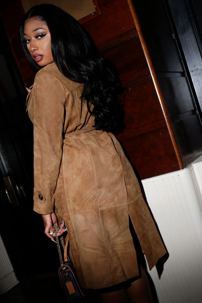 Coach Show Afterparty at NYFW 2020: Megan Thee Stallion (6 Photos)