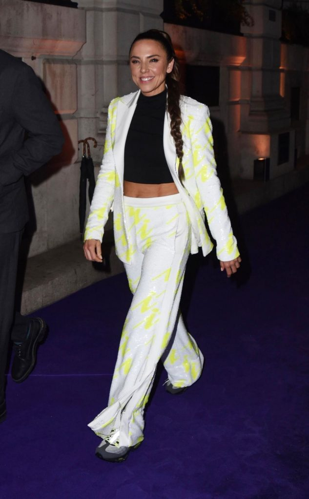 Melanie C – Leaves the BRITS Universal After-Party 2020 (4 Photos)