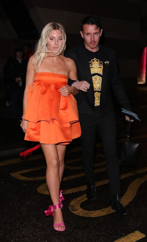 Mollie King – Arrive at the Sony BRIT Awards 2020 After-Party (3 Photos)