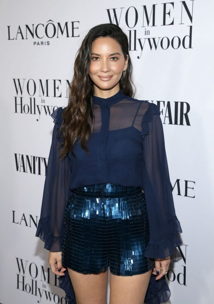 Olivia Munn – Vanity Fair and Lancome Women in Hollywood Celebration 2020