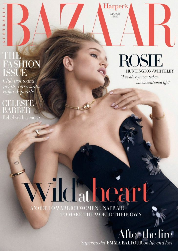 Rosie Huntington-Whiteley – Harper's Bazaar Australia March 2020 Issue (10+ Photos)