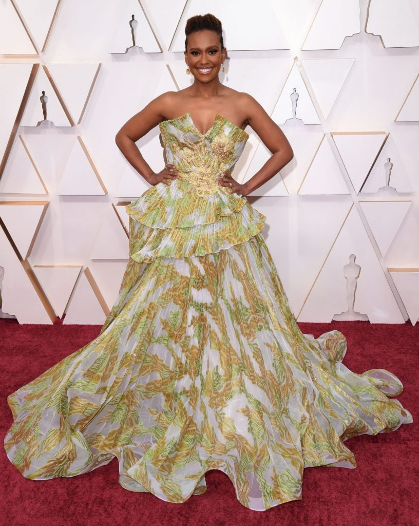 Oscars 2020 Red Carpet: Ryan Michelle Bathe (2 Photos)