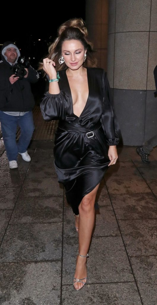 Sam Faiers – Arrive at the Sony BRIT Awards 2020 After-Party (10 Photos)