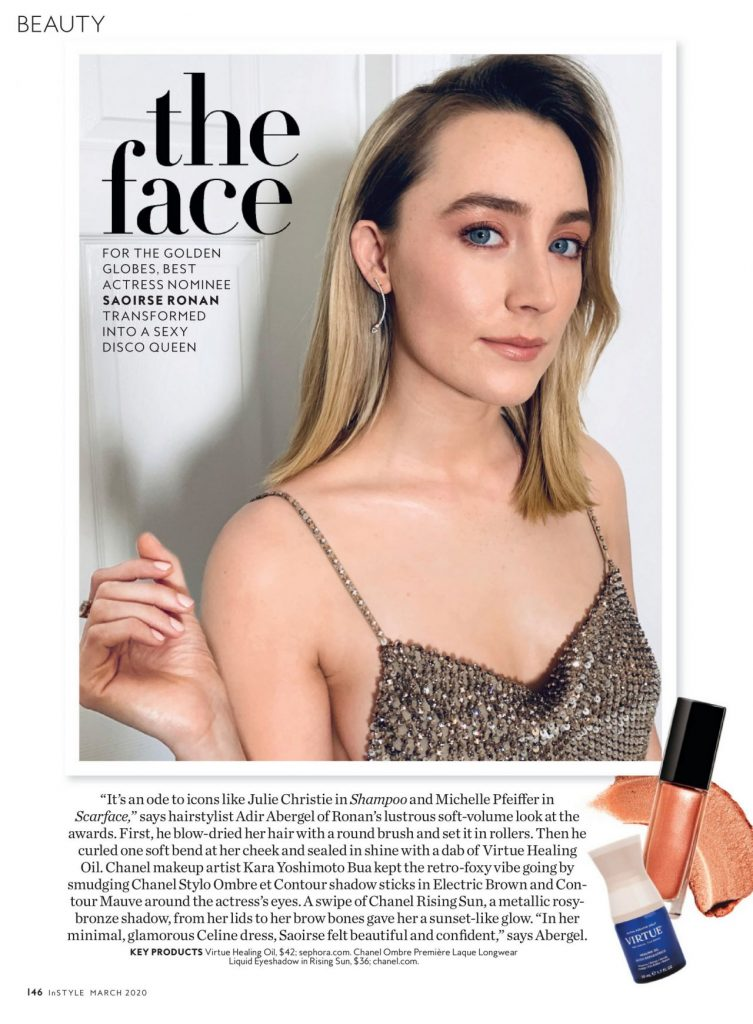 Saoirse Ronan – InStyle US March 2020 Issue