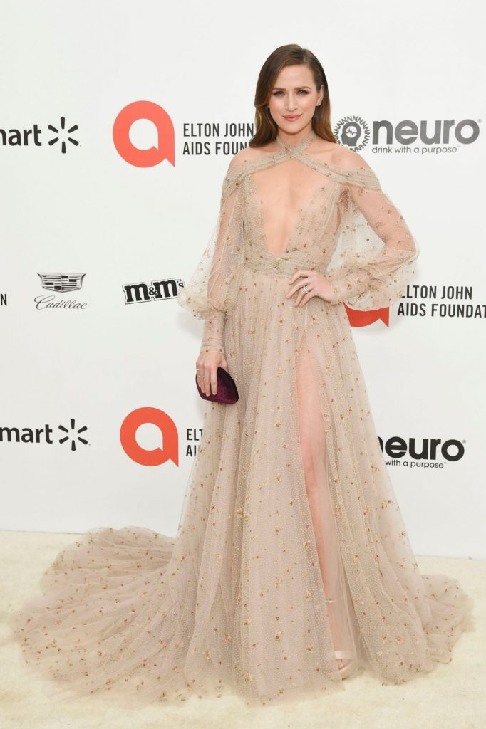 Elton John AIDS Foundation Oscar 2020 Viewing Party: Shantel VanSanten (12 Photos)