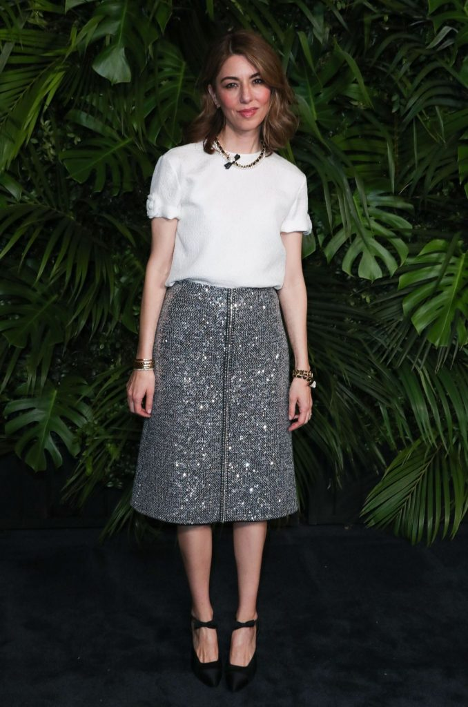 Sofia Coppola – Charles Finch and Chanel Pre-Oscar Awards 2020 Dinner (2 Photos)
